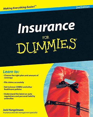 Insurance for Dummies By Hungelmann, Jack