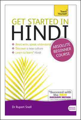 Get Started in Hindi By Snell, Rupert